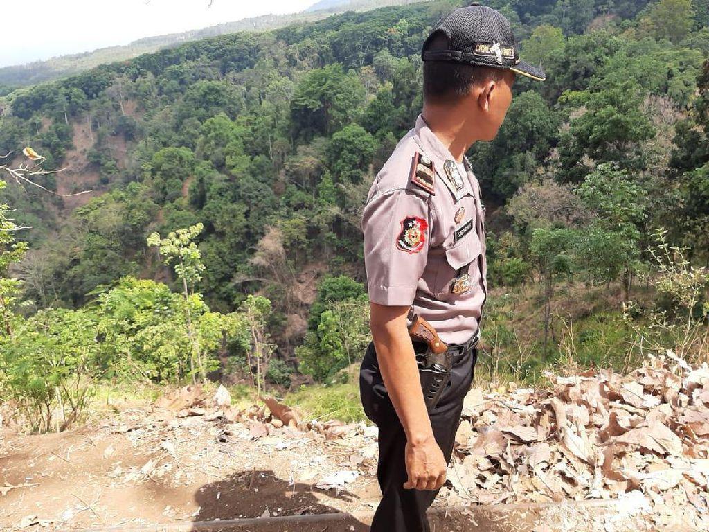Seorang Warga Lereng Bromo Tewas Terjatuh ke Jurang Sedalam 75 Meter