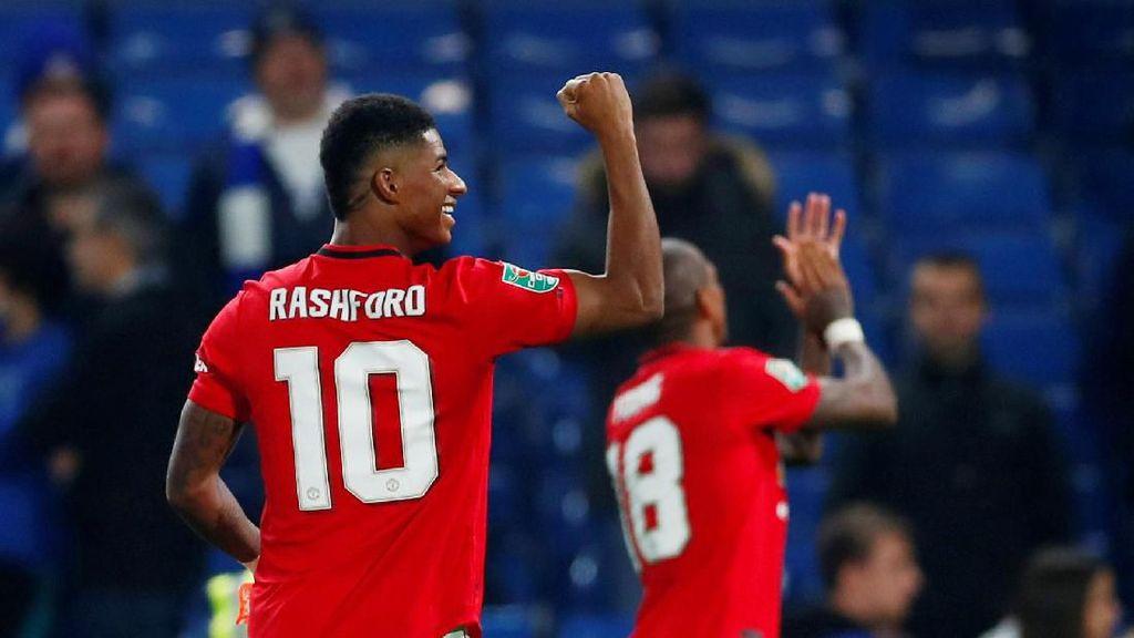Chelsea 1 Rashford 2