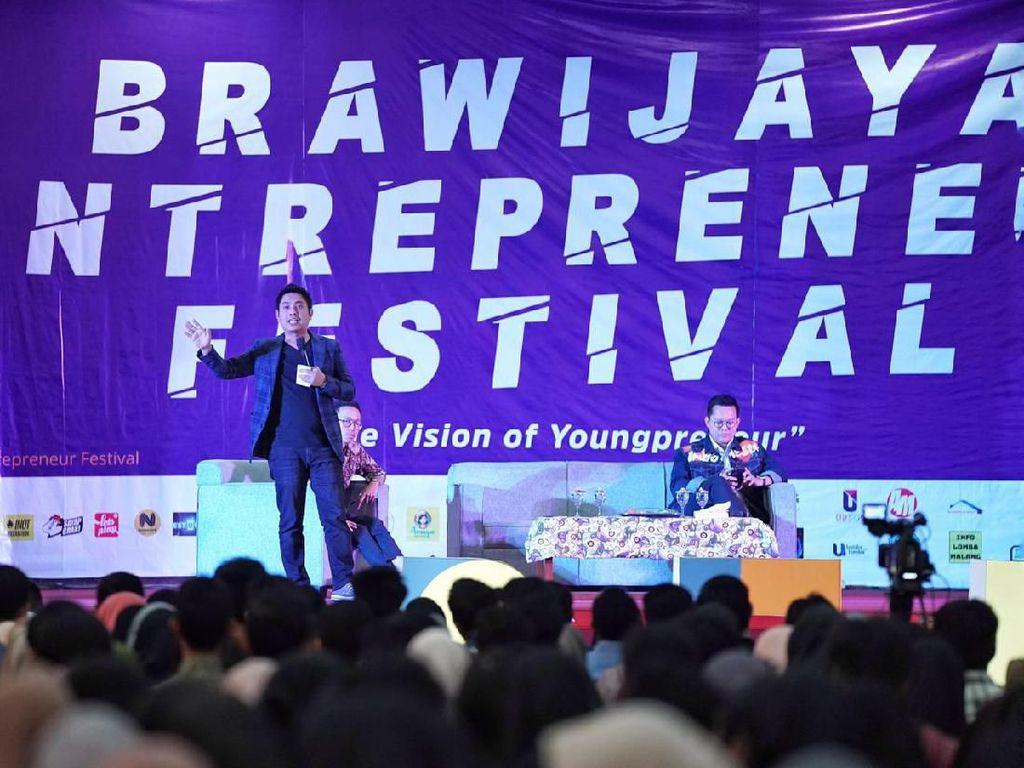Mardani Maming Beri Inspirasi Mahasiswa Unibraw Berwirausaha