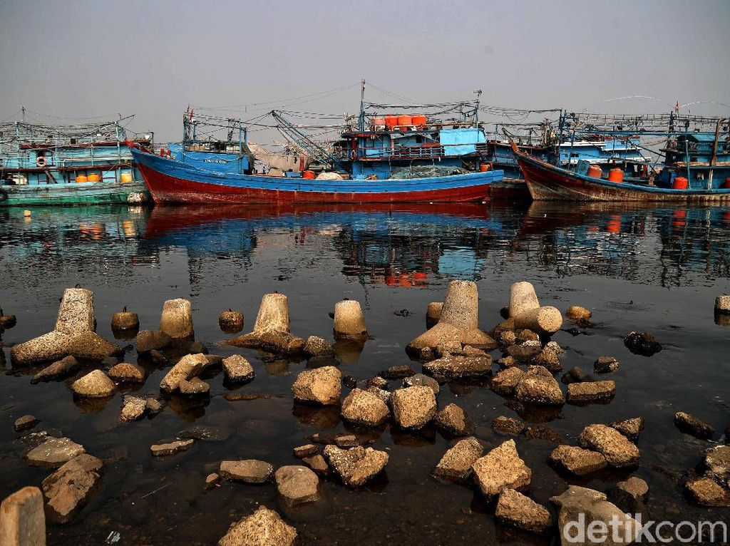 Nelayan Muara Angke Keluhkan Reklamasi Pulau G