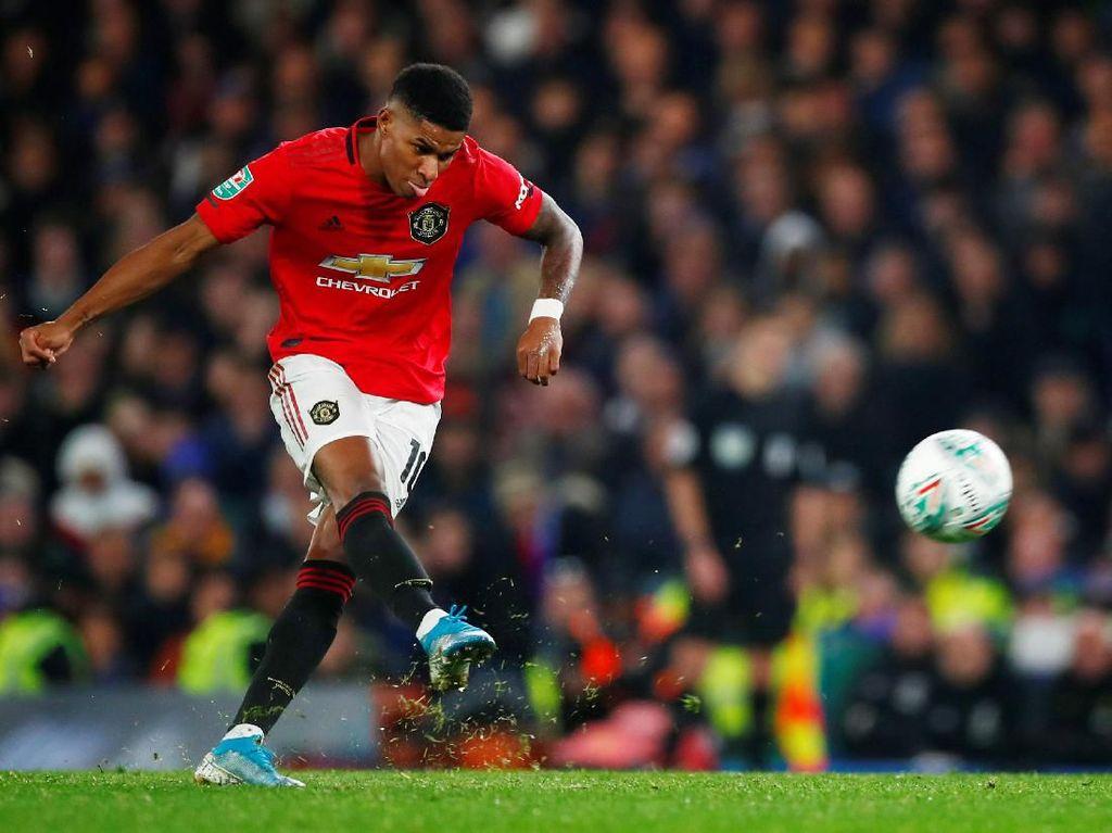 Video Gol Terbaik Marcus Rashford di Manchester United