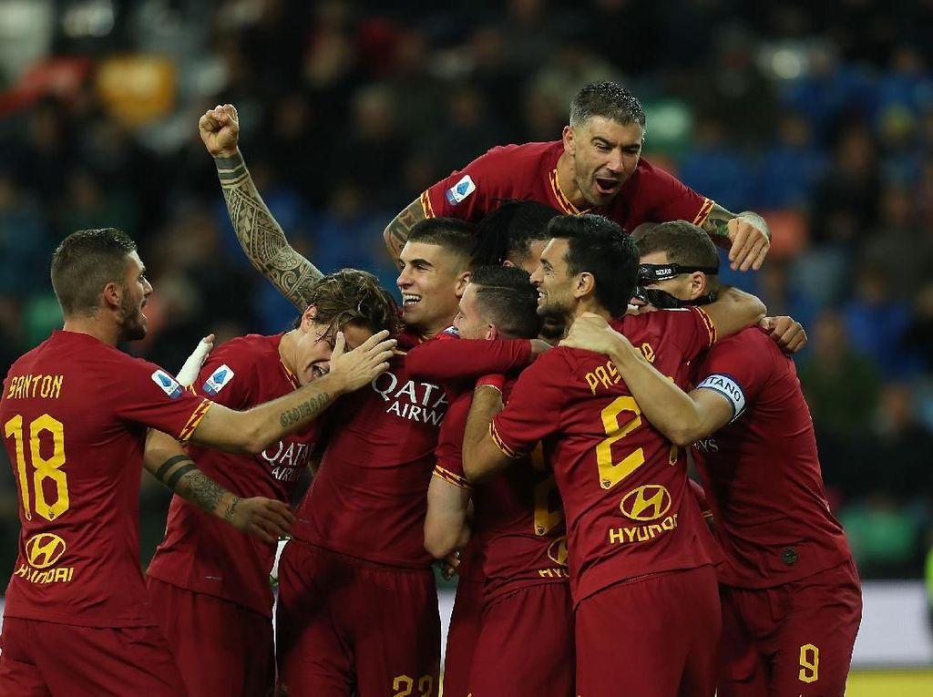 Kartu Merah Fazio Bikin Roma Makin Semangat Menyerang