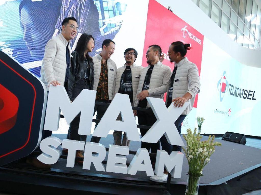MAXstream Mau Tayangkan Film Seri Tiap Bulan