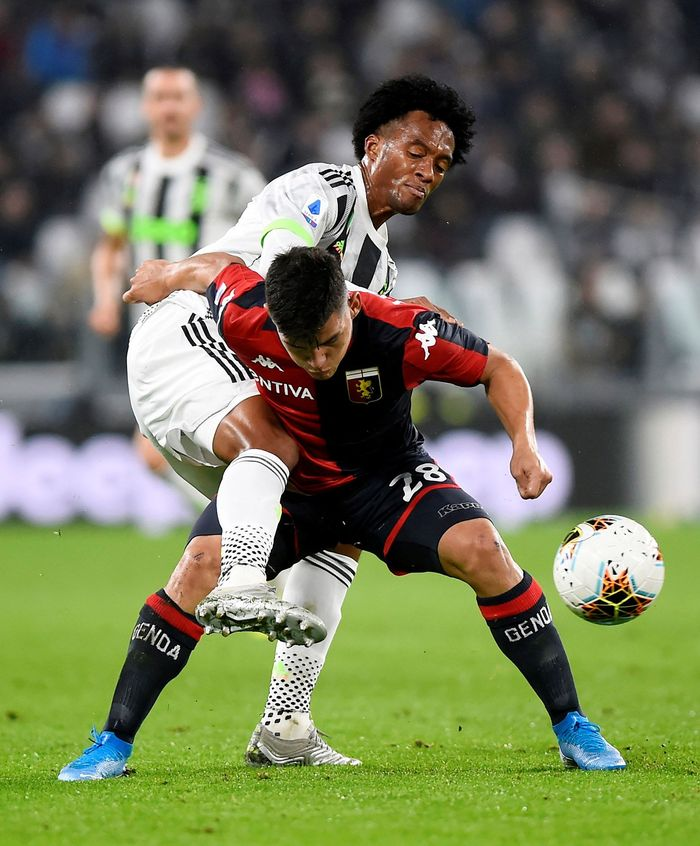 Pertandingan Juventus vs Genoa digelar di Allianz Stadium, Kamis (31/10) dini hari WIB. Reuters/Massimo Pinca.