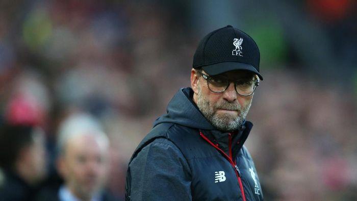 Juergen Klopp tak ambil pusing soal lima gol yang bersarang ke gawang Liverpool di laga lawan Arsenal. (Foto: Jan Kruger/Getty Images)