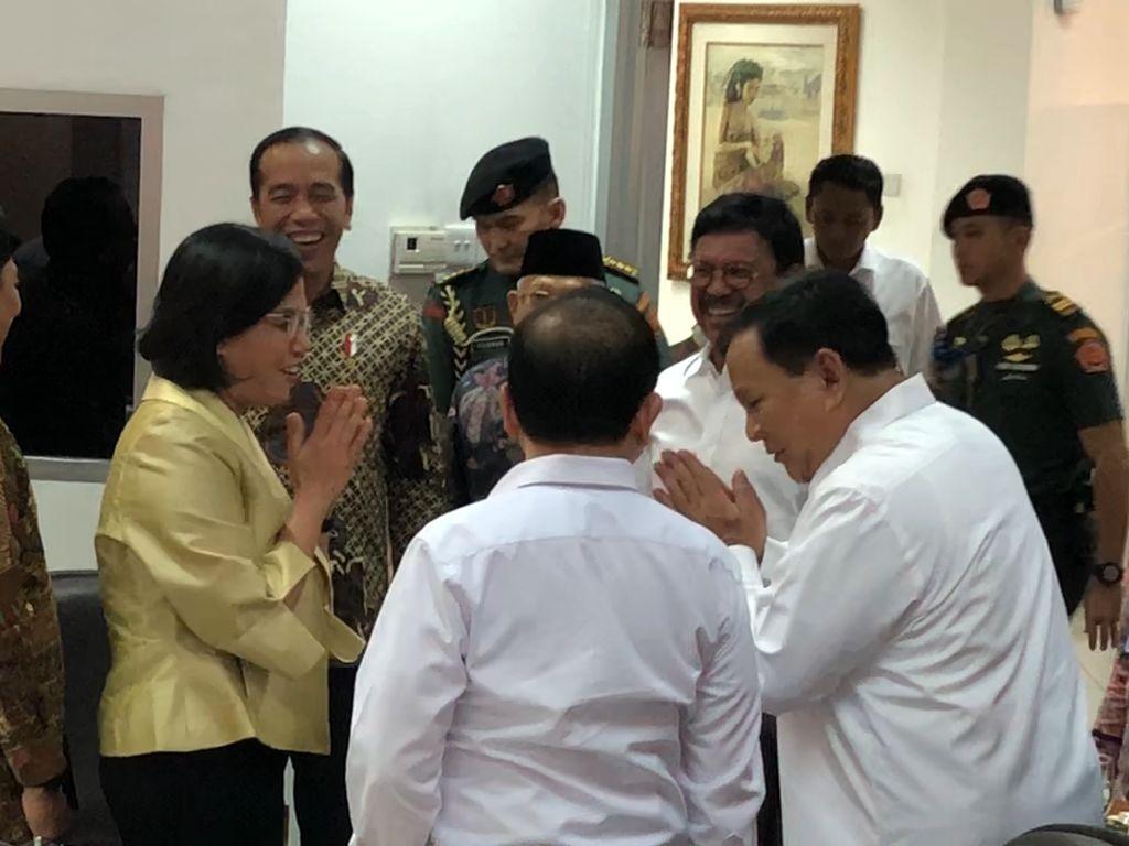 Prabowo dan Sri Mulyani Kini Tertawa Bersama