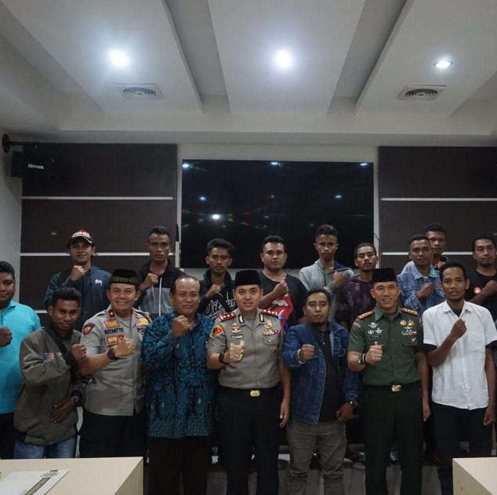 Dua Kelompok Mahasiswa di Kota Malang yang Tawuran Sudah Berdamai