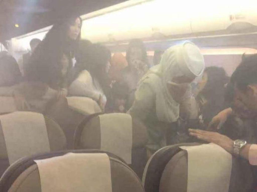 Viral Ponsel Meledak di Pesawat, Ini Faktanya
