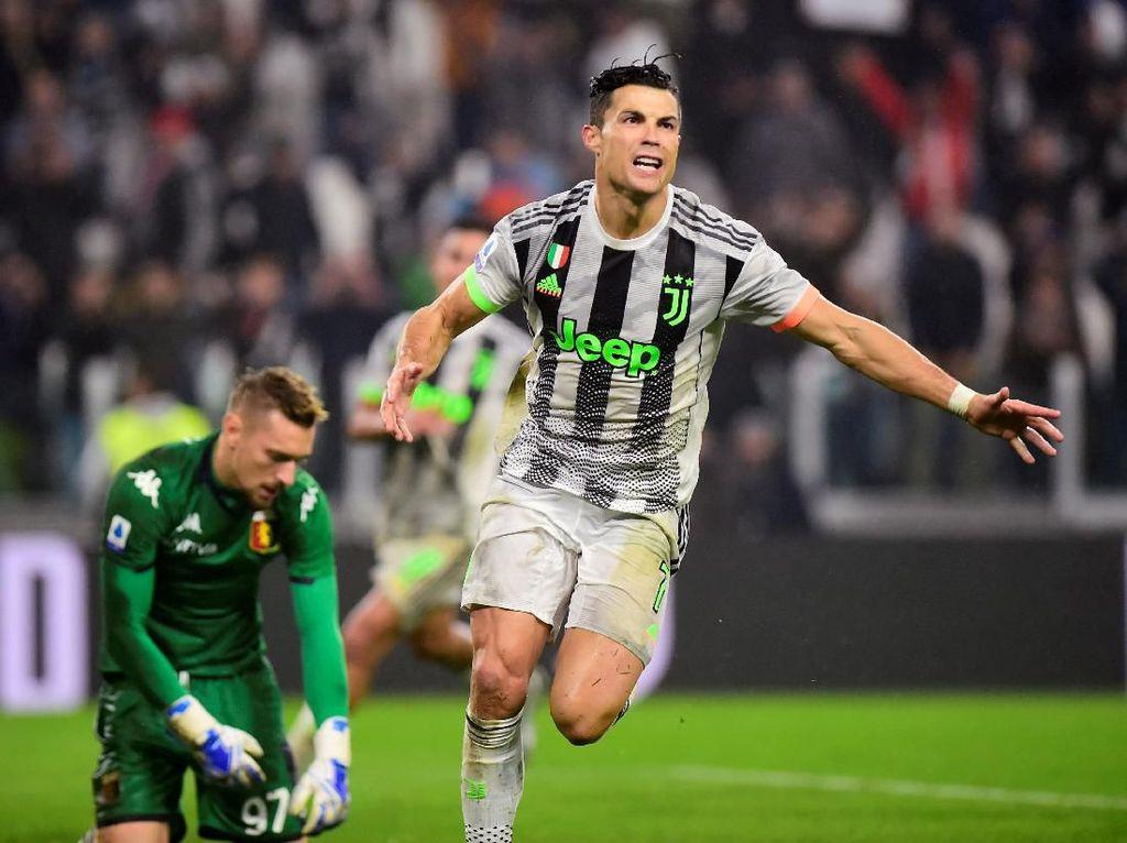 Susah Payah Tundukkan Genoa, Juventus Kembali ke Puncak Klasemen