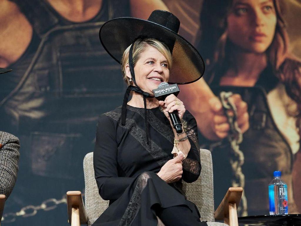 Linda Hamilton Nikmati Akting dengan Pendatang Baru di Terminator: Dark Fate