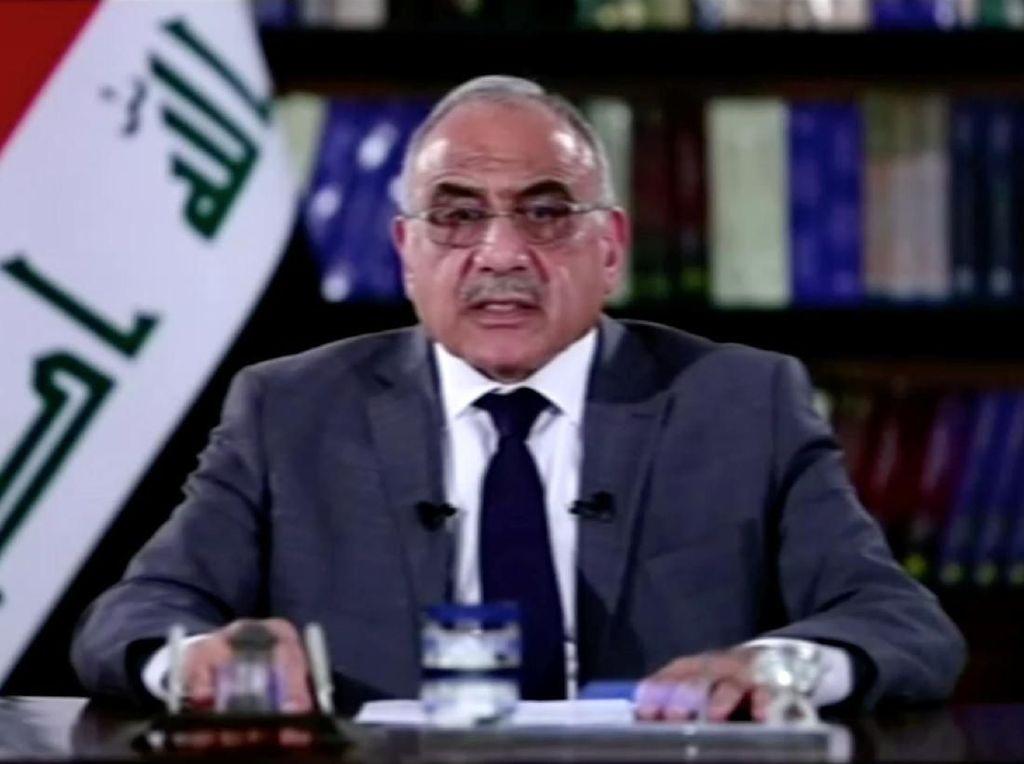 Ingin Damai Dengan Massa, PM Irak Akui Parpol Lakukan Kesalahan