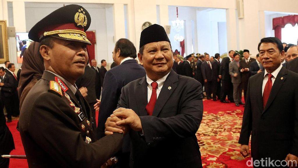 Ucapan Selamat Prabowo hingga Megawati untuk Kapolri Idham Azis