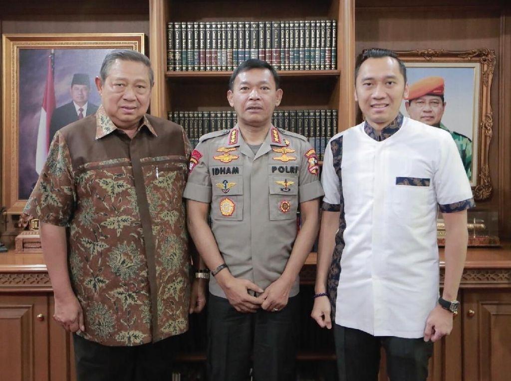 Dukung Penuh, Ibas Ungkit Prestasi Idham Azis di Era SBY