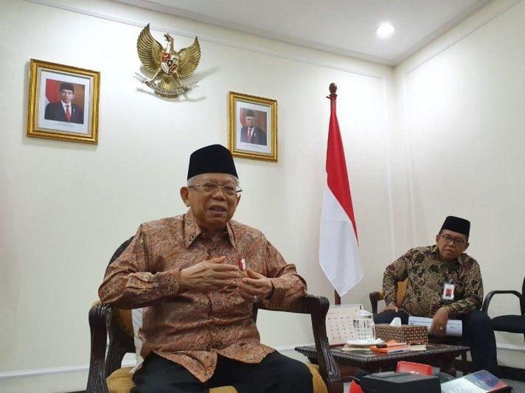 Menag Singgung Celana Cingkrang, Maruf Amin: Itu dalam Rangka Disiplin