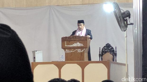 Menag Geram Khotbah Jumatnya di Istiqlal Dipotong Seolah Tanpa Sholawat