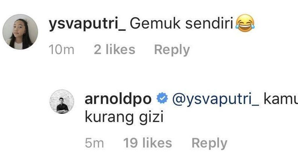 Chef Arnold Beri Komentar Julid dan Kocak untuk Netizen, Ini Buktinya!