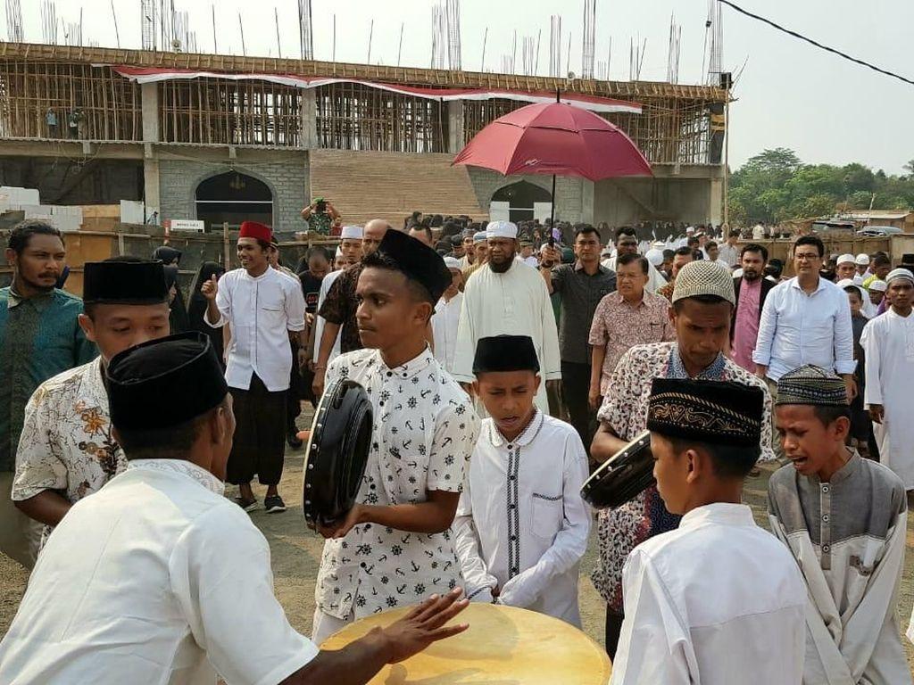 JK Kunjungi Ponpes di Bekasi, Beri Pesan Khusus ke Santri Papua