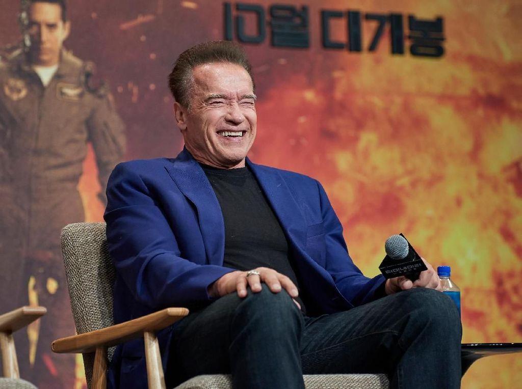 Tonton Eksklusif! Wawancara Arnold Schwarzenegger dan Linda soal Terminator