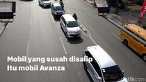 Mobil yang Susah Disalip di Jalanan
