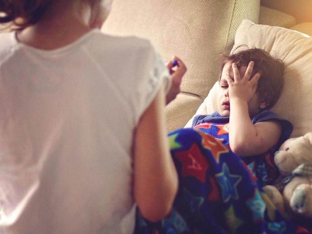 Perlu Tahu, Gejala dan Penyebab ISPA pada Anak
