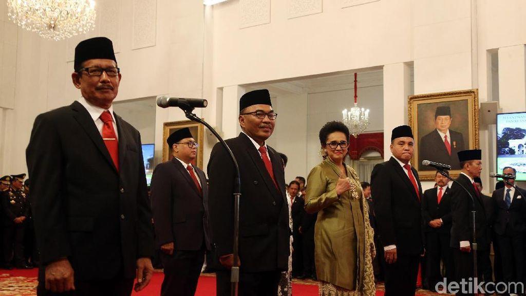 Jokowi Lantik 9 Komisi Kejaksaan