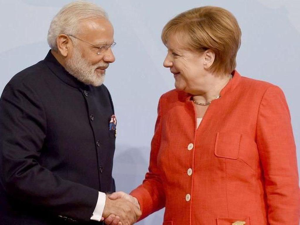 Tingkatkan Hubungan Dagang dan Investasi, Kanselir Merkel Kunjungi India