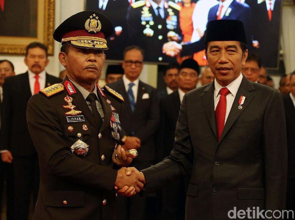 Istana soal Bursa Calon Kapolri: Presiden Punya Kunci