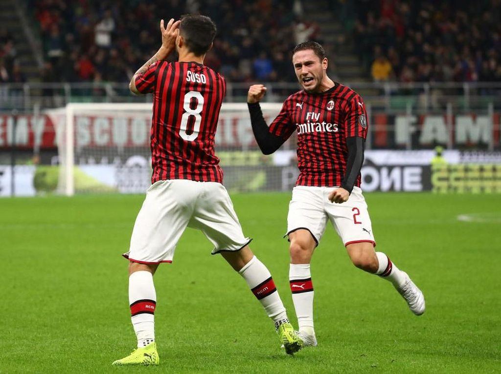 Kalahkan SPAL 1-0, Milan Raih Kemenangan Perdana Bersama Pioli