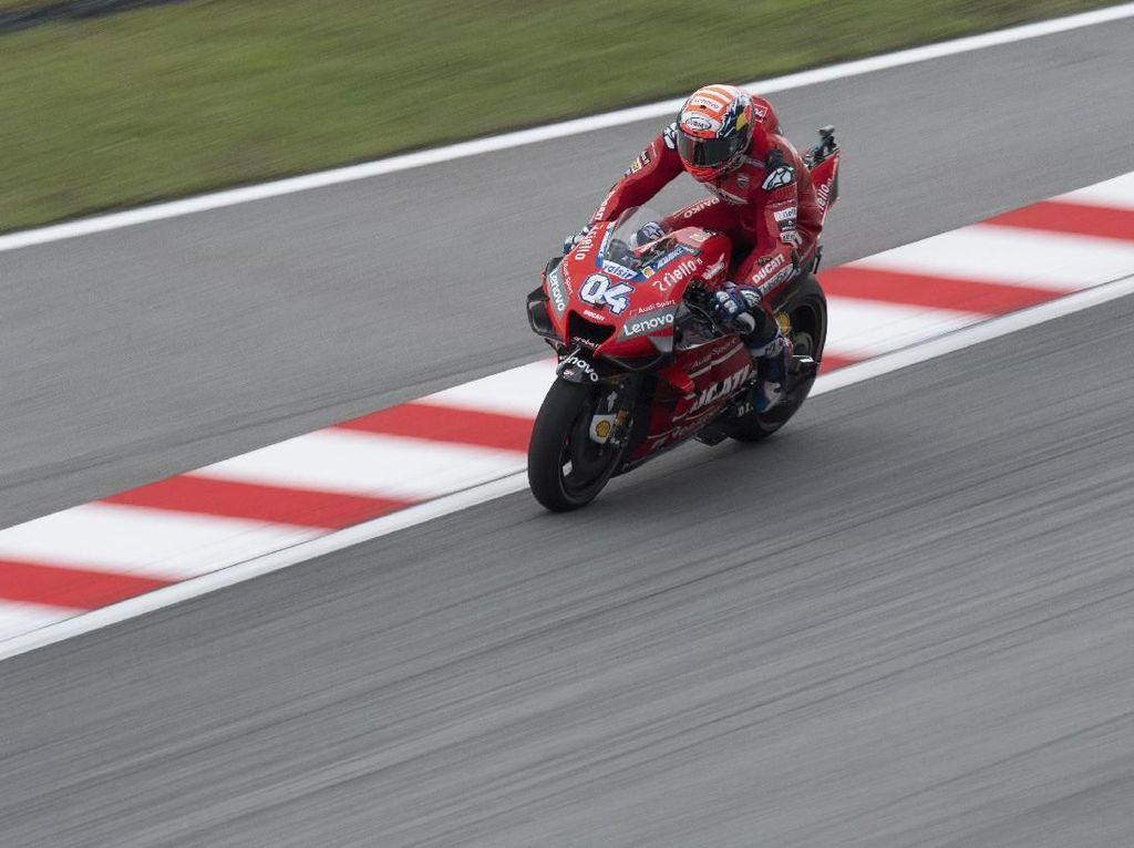 Kecepatan Dovizioso Belum Cukup untuk Menang di MotoGP Malaysia