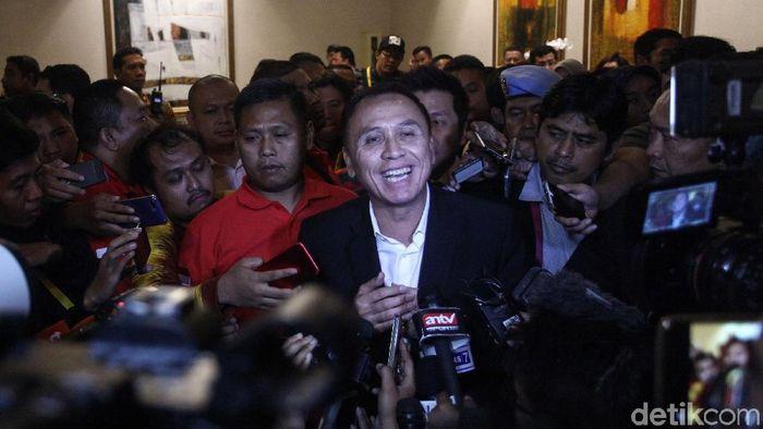 Mochamad Iriawan alias Iwan Bule di Kongres PSSI  (Rifkianto Nugroho/detikSport)