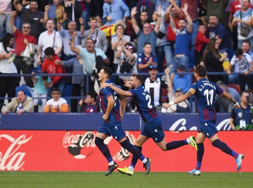 Levante Vs Barcelona: Lionel Messi dkk Dipermalukan 1-3