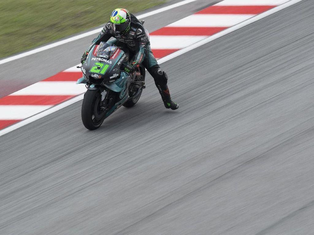 Petronas Yamaha 1-2, Morbidelli Tercepat di FP3 MotoGP Malaysia