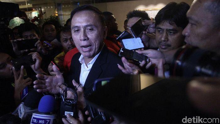 ketum PSSI Iwan Bule diminta tak ceroboh pilih pengurus. (Rifkianto Nugroho/detikSport)