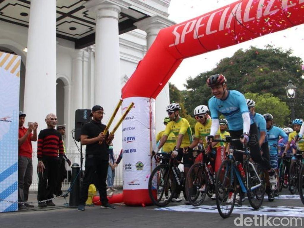 Tour de Borobudur di Mulai, Peserta akan Tempuh 265 KM