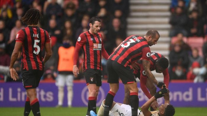 Manchester United kalah 0-1 di kandang Bournemouth (Foto: Harry Trump/Getty Images)