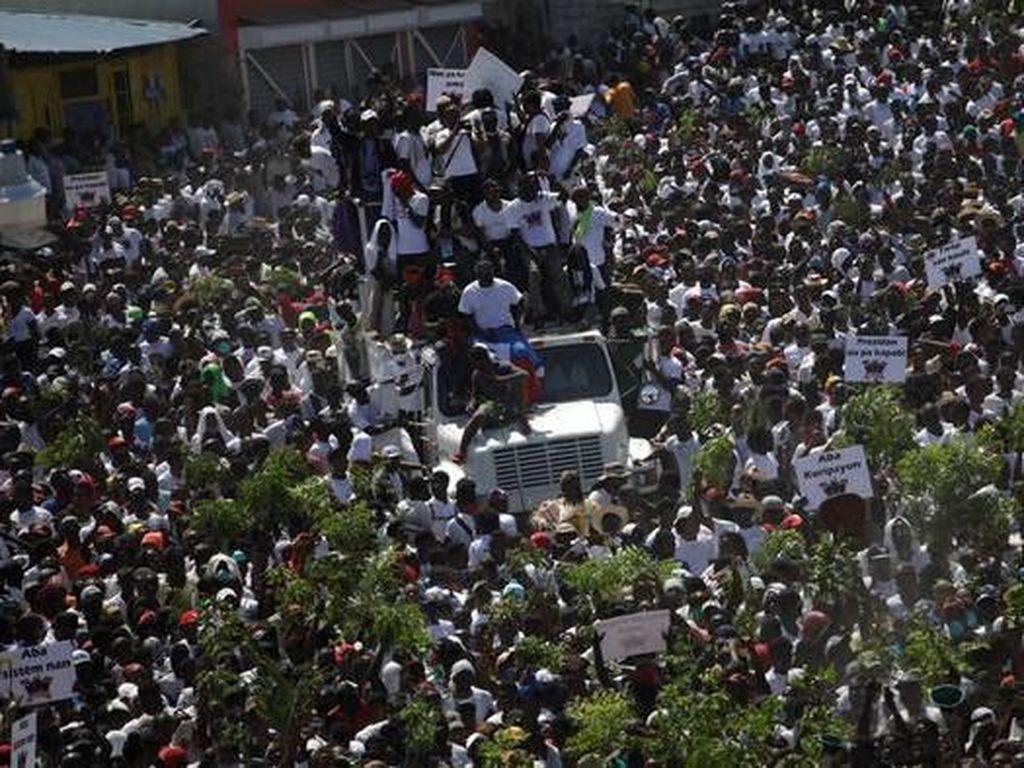42 Orang Tewas dalam Aksi-aksi Demo Antipemerintah di Haiti