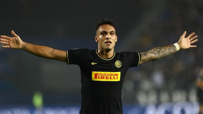 Inter Milan berniat memperpanjang kontrak Lautaro Martinez (Foto: Marco Luzzani / Getty Images)