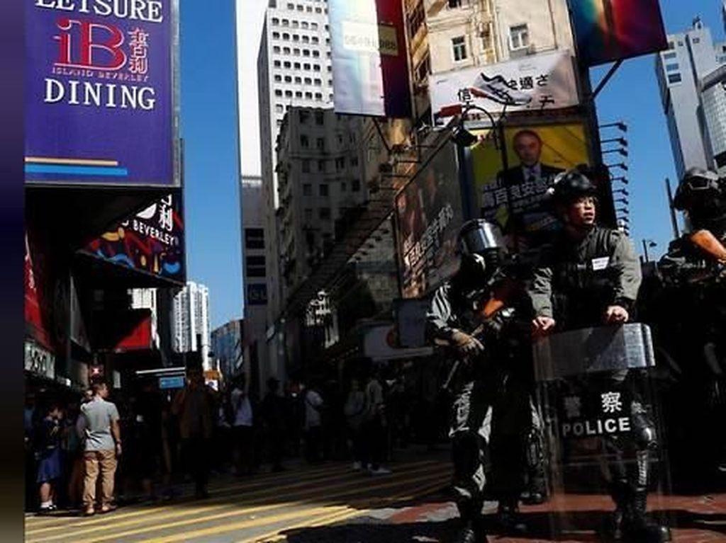 Media China Serukan Otoritas Lebih Keras terhadap Demonstran Hong Kong