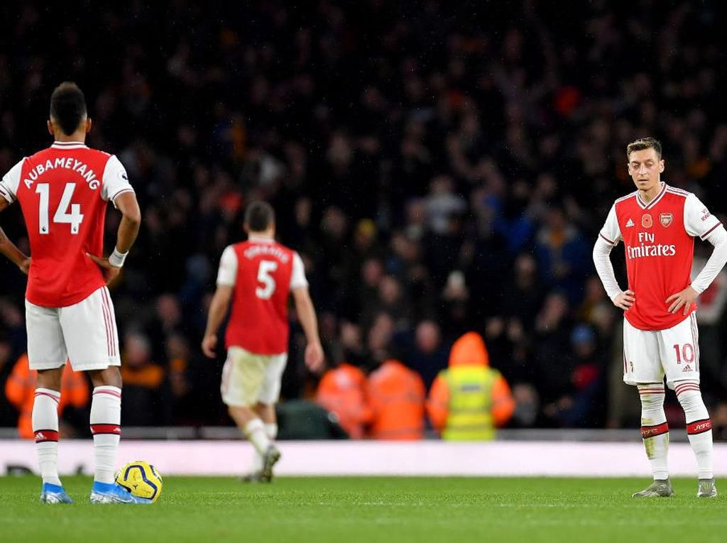 Arsenal Diimbangi Wolves 1-1