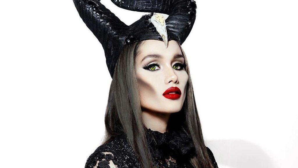 Adu Gaya 5 Artis Indonesia Dandan Jadi Maleficent, Siapa Paling Mirip?