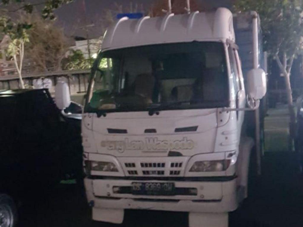 Truk Muat Kayu yang Dibajak di Surabaya Ditemukan Sekitar Suramadu