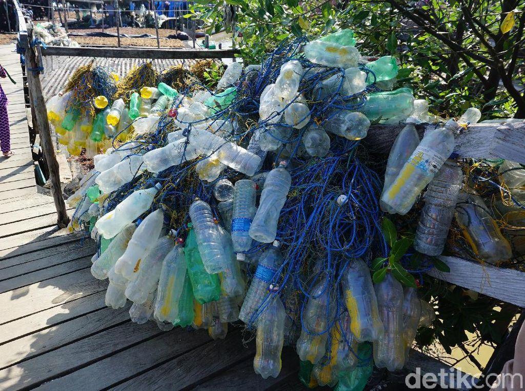 Botol Plastik dan Petani Rumput Laut di Nunukan