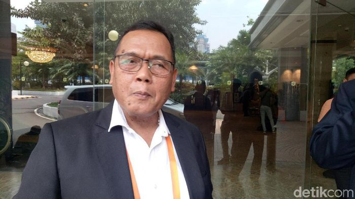 Waketum PSSI Cucu Sumantri (Randy Prasatya/detikSport)