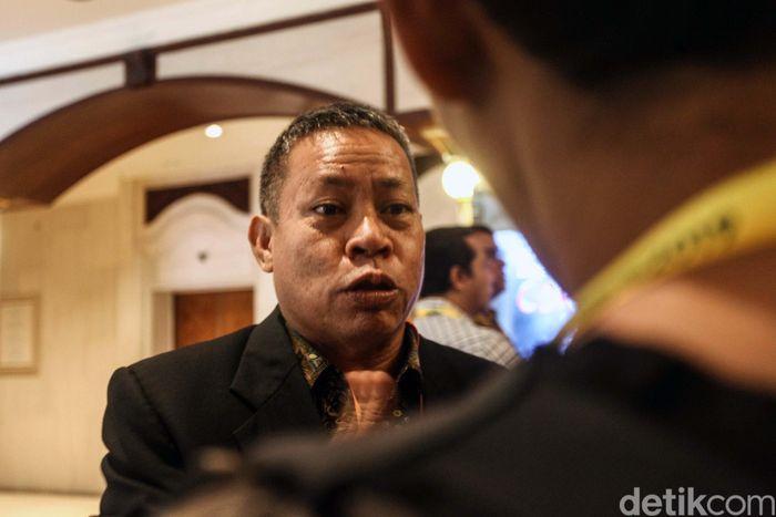 Kongres Luar Biasa (KLB) pemilihan pengurus PSSI 2019-2023 berlangsung di Shangri-La Hotel, Sabtu (2/11/2019) pagi WIB.