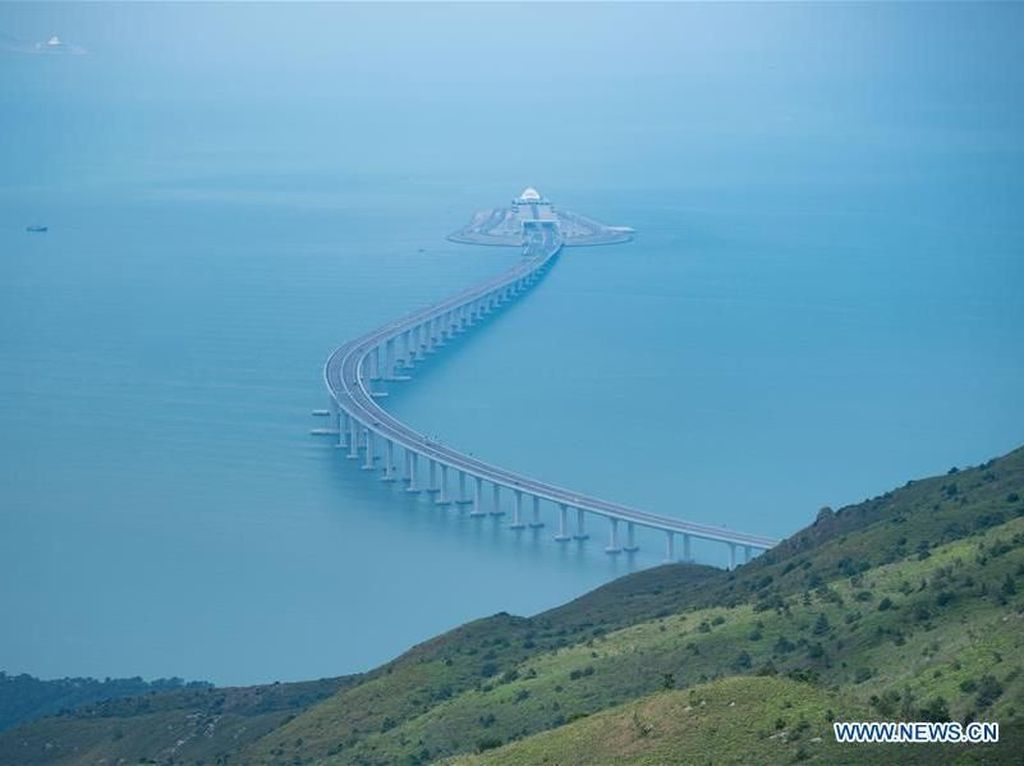 Membentang 55 Km, Ini Dia Jembatan Terpanjang di Dunia