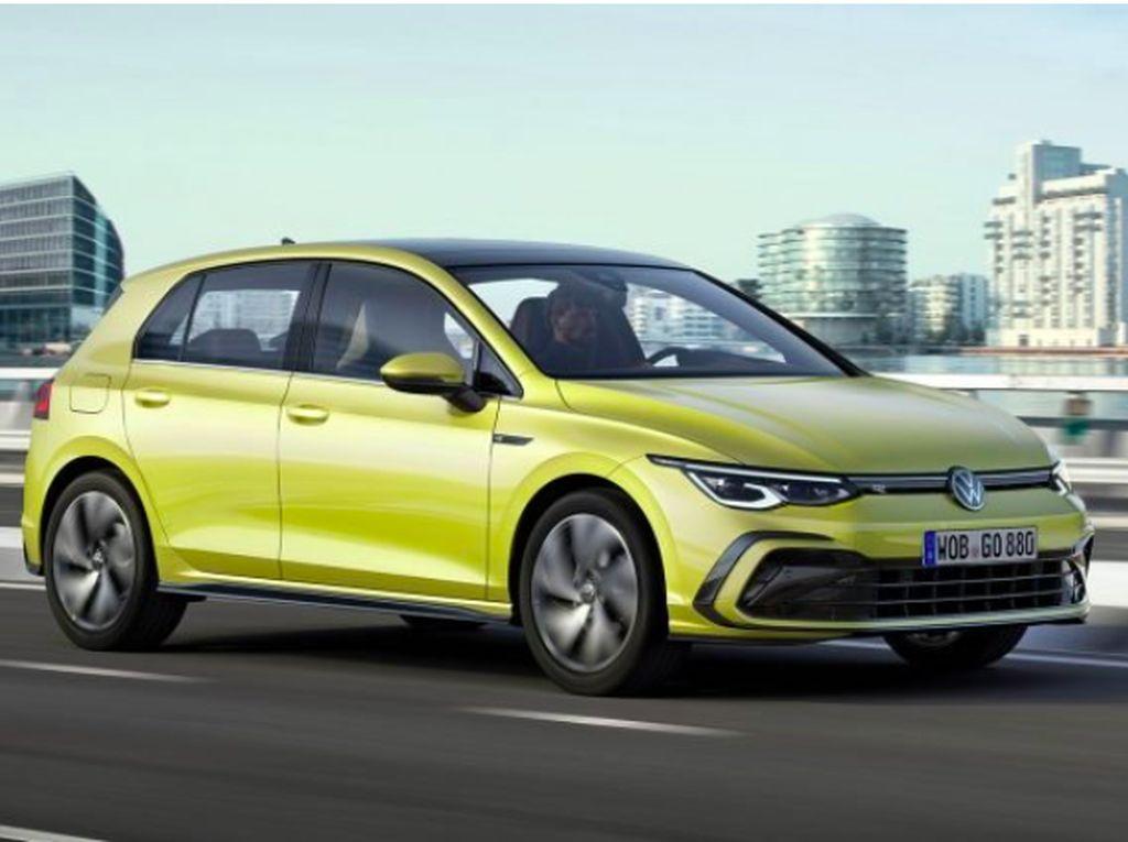 Intip Penampakan Resmi VW Golf Mk8 yang Baru