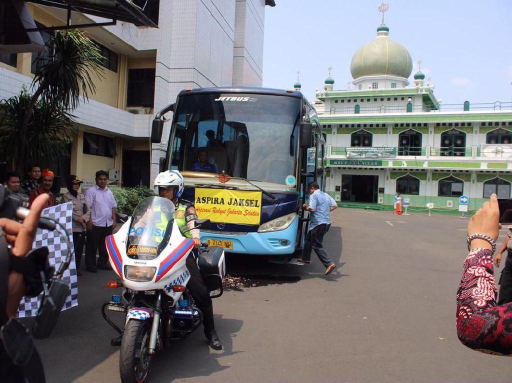 Siapkan Bus Gratis, Polres Jaksel Siap Antar-Jemput Massa Unjuk Rasa