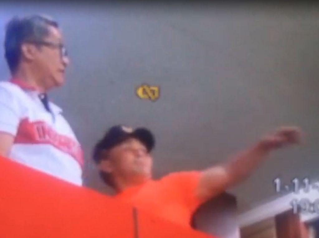 Viral! Gubernur Kalteng Lempar Botol di Stadion dan Marahi Kapolres
