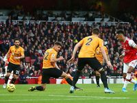 Arsenal Vs Wolves: The Gunners Unggul 1-0 di Babak Pertama