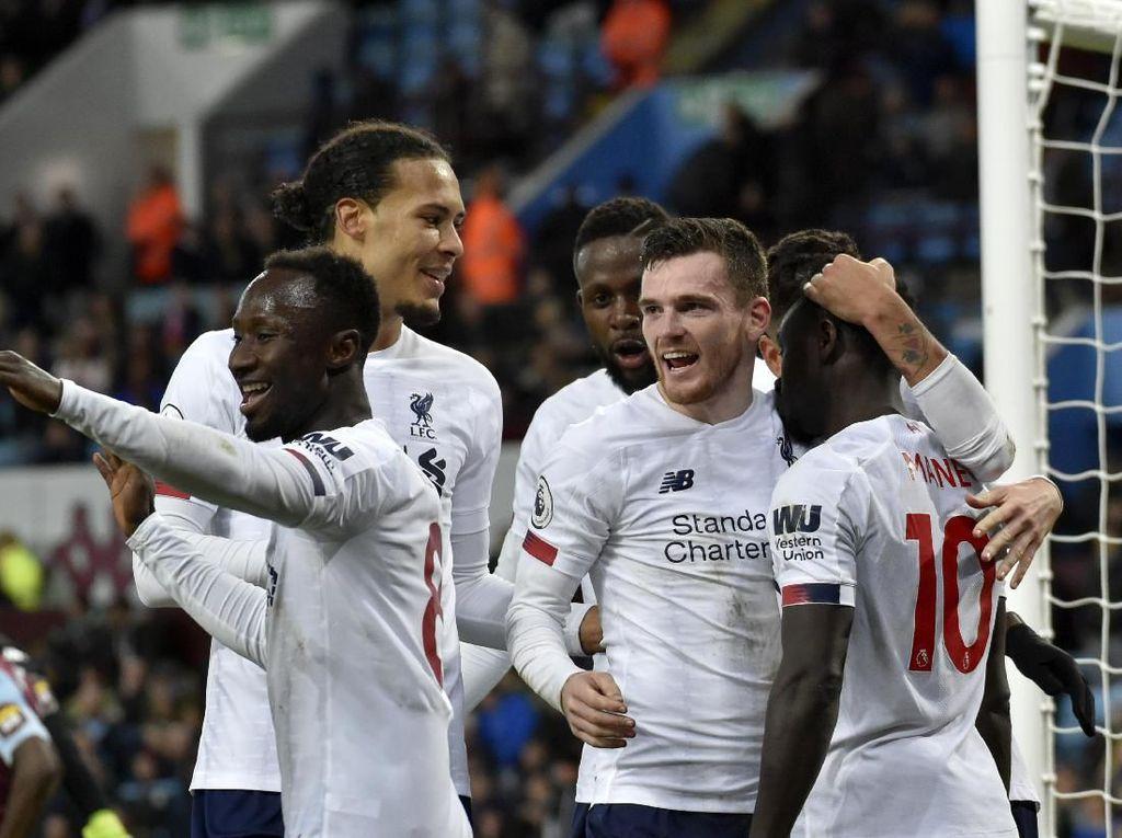 6 Laga Krusial Liverpool di Liga Inggris 2019/2020